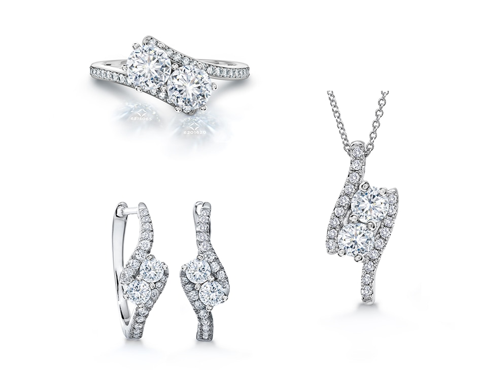 the ever us collection diamond jewelry forevermark
