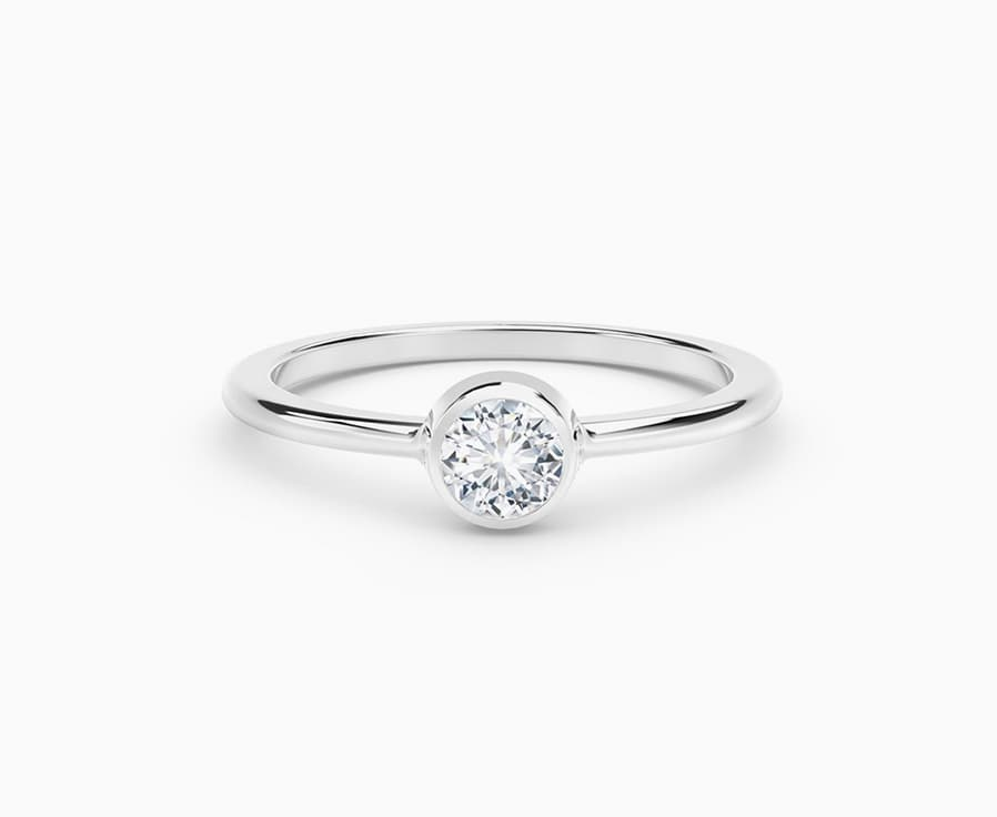 Classic Diamond Jewelry Solitaire Ring Guide Forevermark