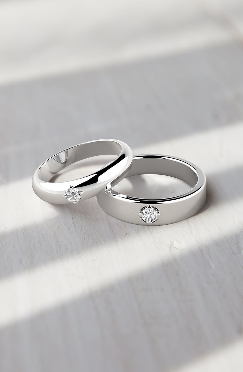 d6f4511ca0 A Guide to Choosing Couple's Rings | Forevermark