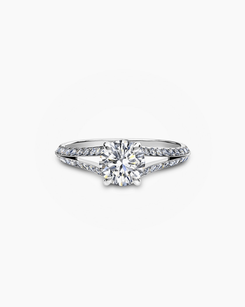Juliet Setting Diamond Engagement Ring Oval Diamond