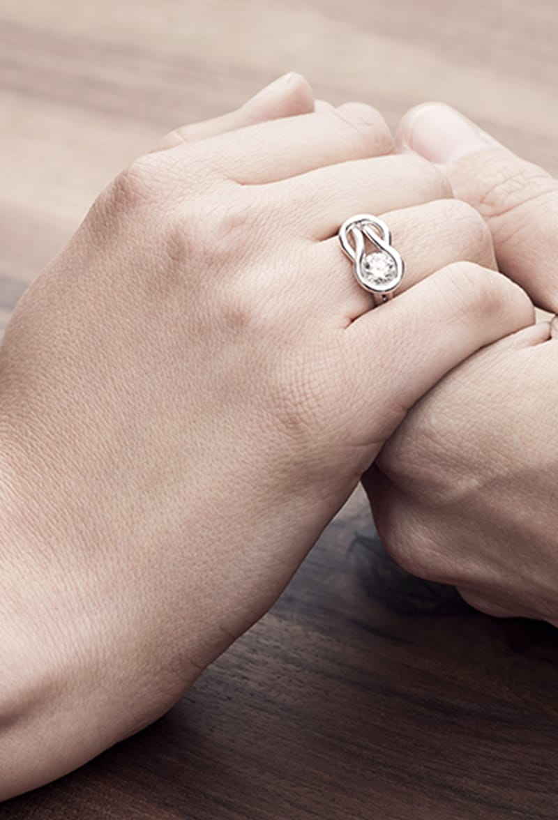 Which finger to wear your engagement or wedding ring on Forevermark