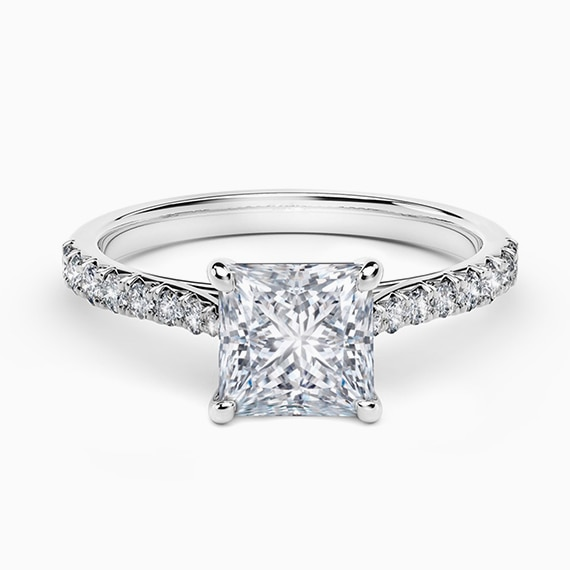 FirePrincess™ Solitaire Engagement Ring