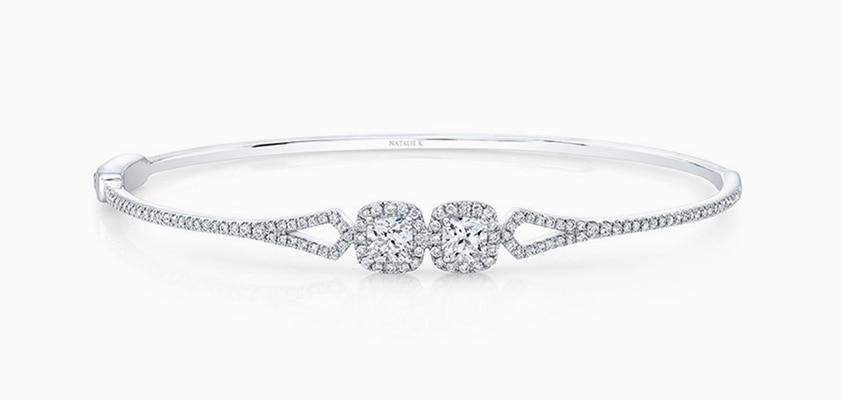 Alternatively If A Vintage Style Eals To You Consider The Clic Tennis Bracelet Set With Identical Round Diamonds And Combine This Piece