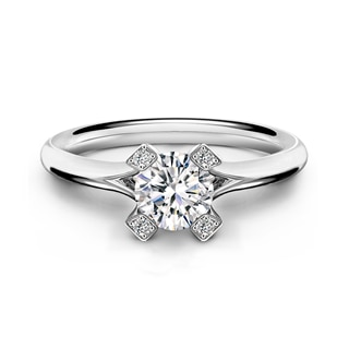 Cornerstones® Plain Solitaire Ring