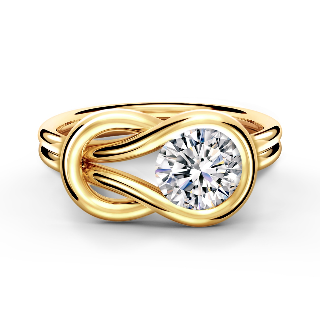 Encordia 174 Solitaire Ring Forevermark