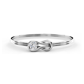 Encordia® Solitaire Bangle