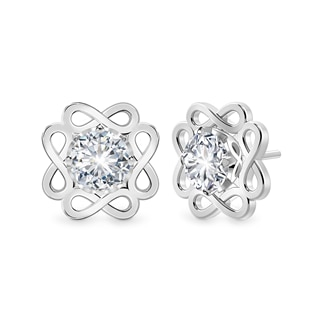 Endlea™ Pavé Stud Earrings