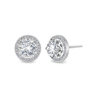 Endlea™ Halo Stud Earrings