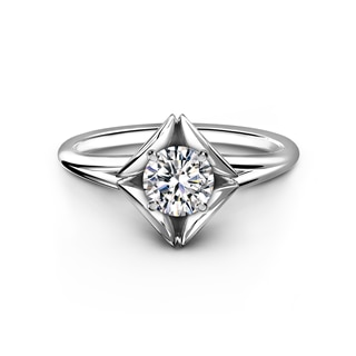The Forevermark Eternal™ Collection Solitaire Plain Ring