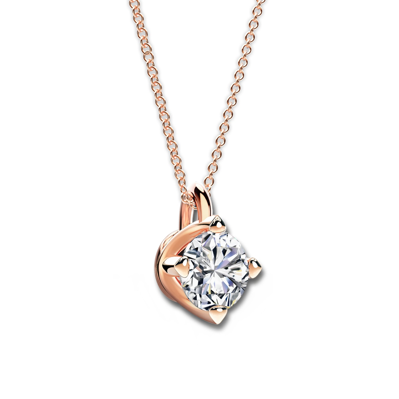 Forevermark setting solitaire pendant forevermark forevermark setting solitaire pendant mozeypictures Choice Image