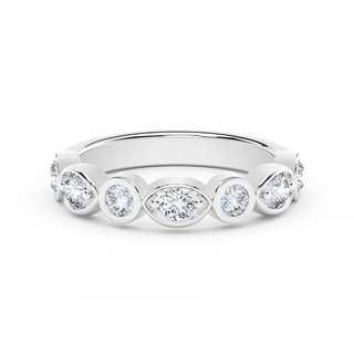 The Forevermark Tribute™ Collection Stackable Bezel Set Diamond Ring