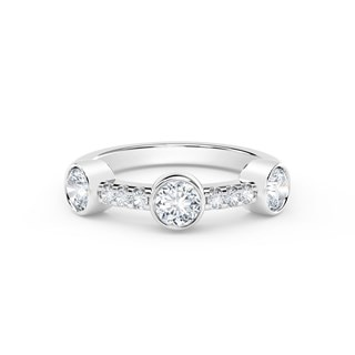 The Forevermark Tribute™ Collection Three Stone Diamond Ring