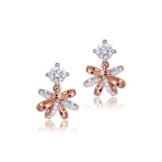 Fiore Prong Setting Earrings