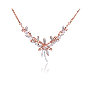 Fiore Prong Setting Necklace