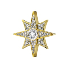 Artemis™ Collection Pavé Star Brooch