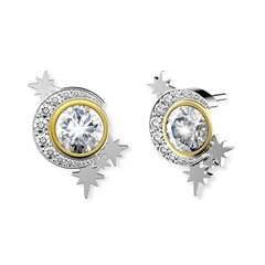 Artemis™ Collection Moon stud Earrings