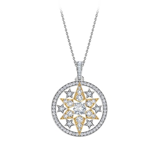 Artemis™ Collection Solitaire Star Tassel Pendant