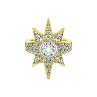 Artemis™ Collection Pave Star Ring