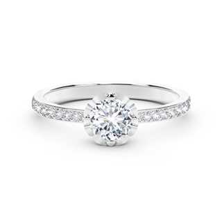 The Forevermark Endlea™ Collection Classic Pavè Ring