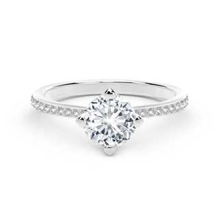 The Forevermark Setting™Collection Classic Pavè Ring