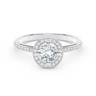 The Forevermark Setting™ Collection Halo Ring