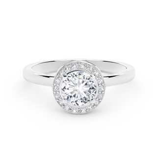 The Forevermark Signature  Setting™ Collection Halo Ring