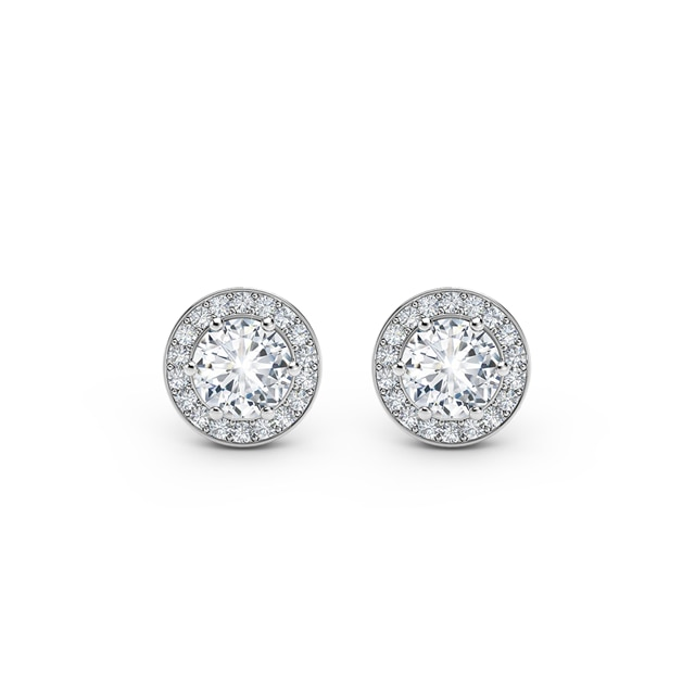 85255f4b92a40 Forevermark Half Carat Pave Ear Studs | Forevermark