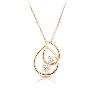 Twogether™ Two Diamond Plain Pendant