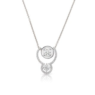 Twogether™ Two Diamond Pavé Pendant