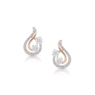 Twogether™ Two Diamond Pavé Stud Earrings