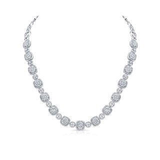Grand Intricate Diamond Necklace