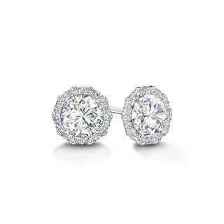 Integre Diamond Stud Earrings