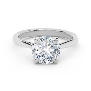 New Aire Solitaire Diamond Engagement Ring