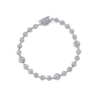Beaded Diamond Bracelet