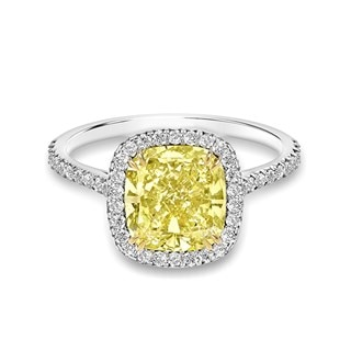 Forevermark Golden Diamonds Engagement Ring