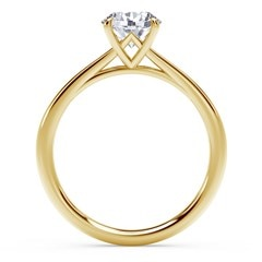 Forevermark Icon™ Setting Round Engagement Ring
