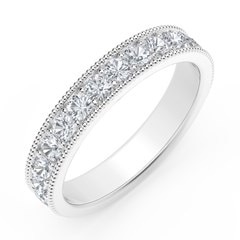 Diamond Beaded Band