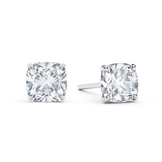 Firecushion Solitaire Studs