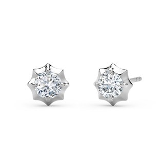 The Forevermark Alchemy™ Collection by Jade Trau Stud  (Available in four shapes)