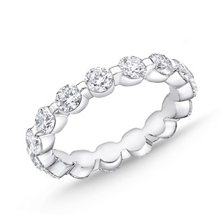 Precious Prong Eternity Band