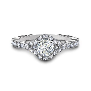 Integre Cascade Engagement Ring
