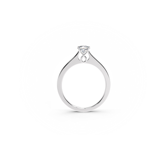 Forever Kiss Solitaire Ring