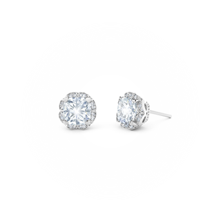 Endlea® Black Label Cushion Stud Earrings