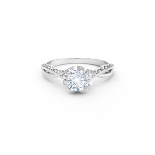 Endlea® Black Label Solitaire Cushion Ring