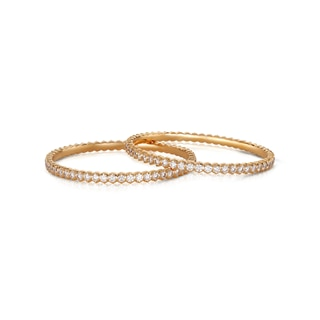 The Forevermark Traditional Setting 22 KT Bangle