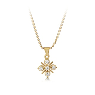 The Forevermark Traditional Setting 22 KT Pendant