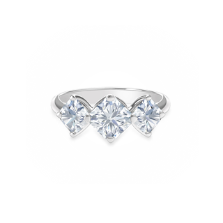 Forevermark Setting™ Three Stone Ring