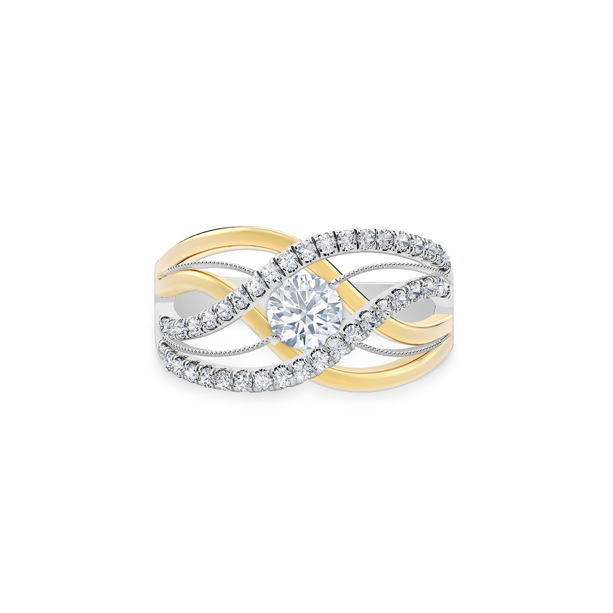 Twisted Right Hand Ring Forevermark