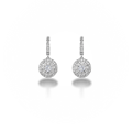 eff997a94 Center of My Universe™ Halo Drop Earrings | Forevermark