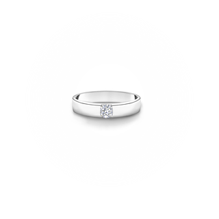SINGLE DIAMOND ODESSA RING